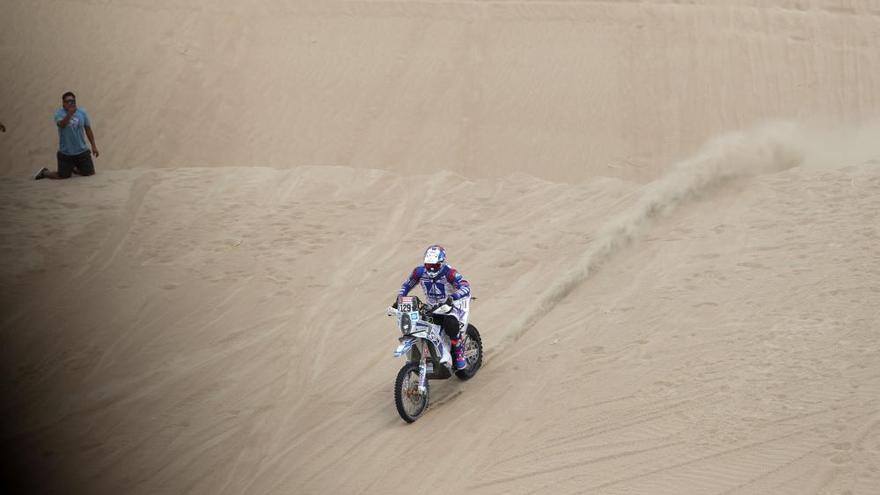 Joan Barreda gana la primera etapa del Dakar en motos