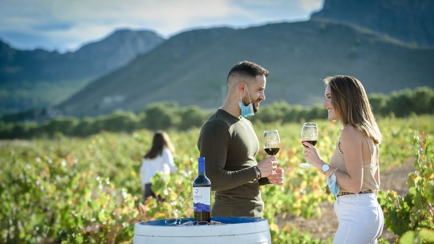 Turismo seguro entre los viñedos