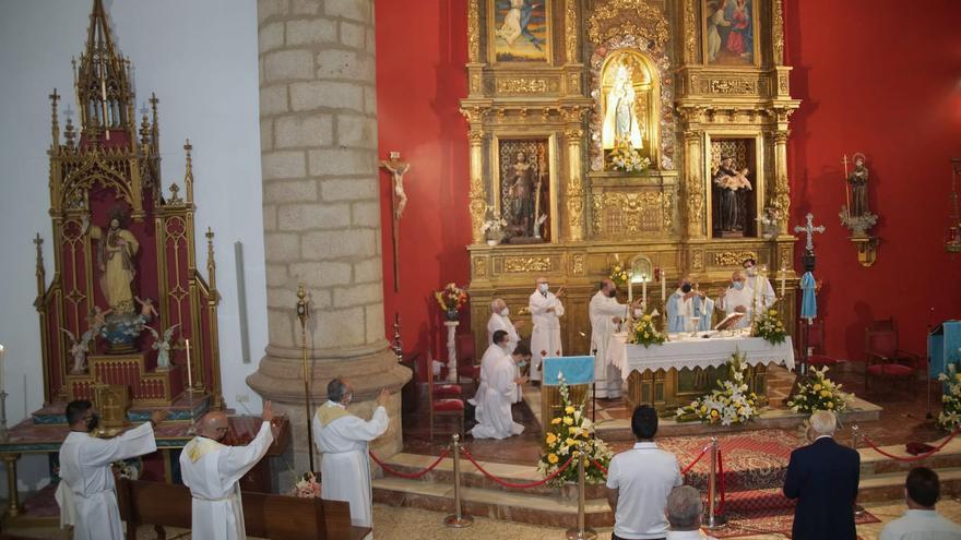 Virgen de la Salud de Alcañices: sin procesión pero con mucha fe