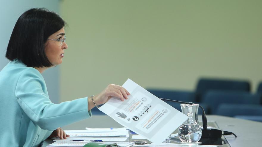 Carolina Darias comparece tras el Consejo Interterritorial de Salud extraordinario