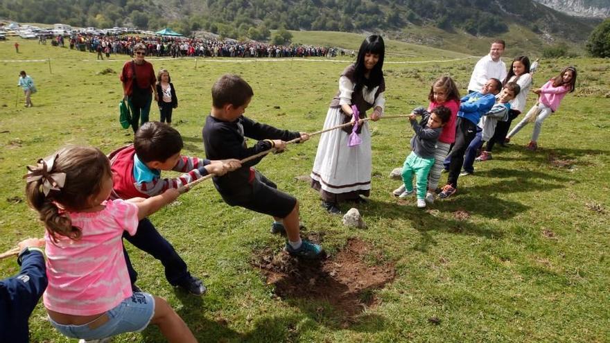 Fiesta del Pastor en Vega de Enol