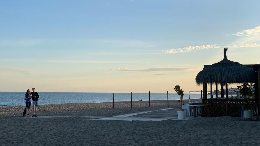 Las playas de Mijas y Fuengirola, también cerradas en la Noche de San Juan