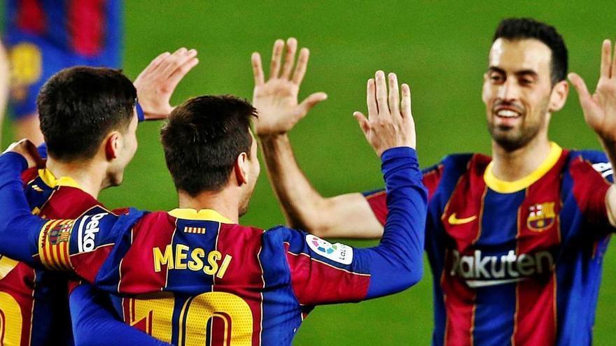 El Barça guanya el Getafe i es manté viu en la lluita pel títol