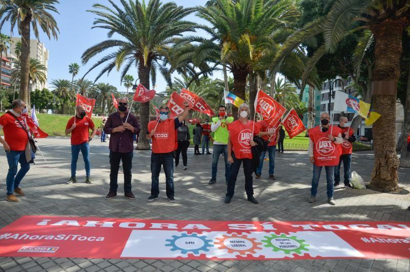 UGT Canarias y CCOO reclaman al Gobierno central el cumplimiento de reformas sociales