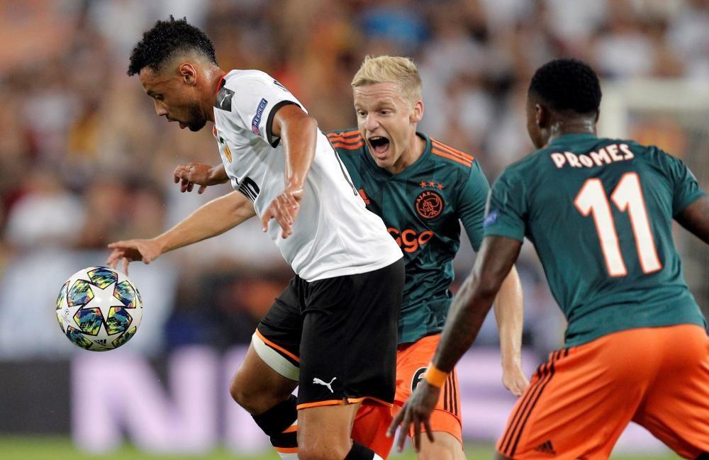 Champions League: Valencia - Ajax