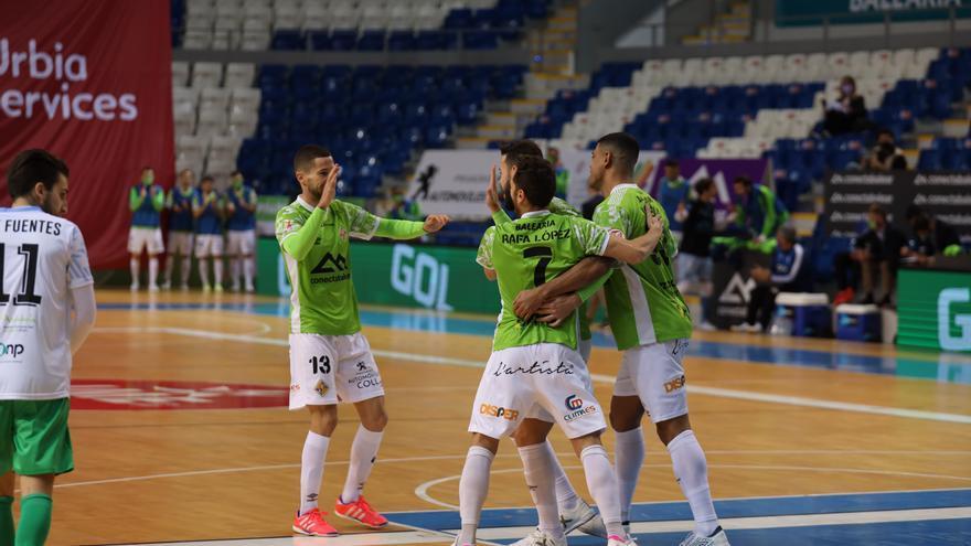 El líder Palma Futsal sufre más de lo previsto