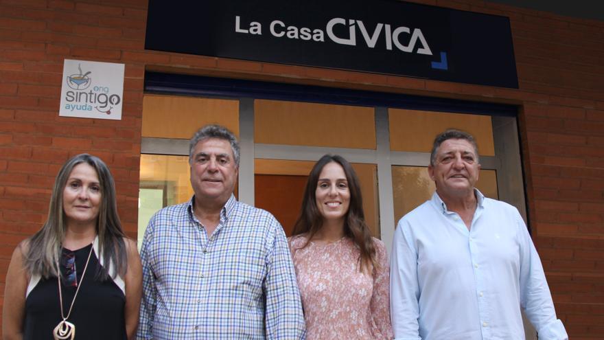 La Casa Cívica inicia su acción solidaria en Alicante con cursos de formación y actividades infantiles