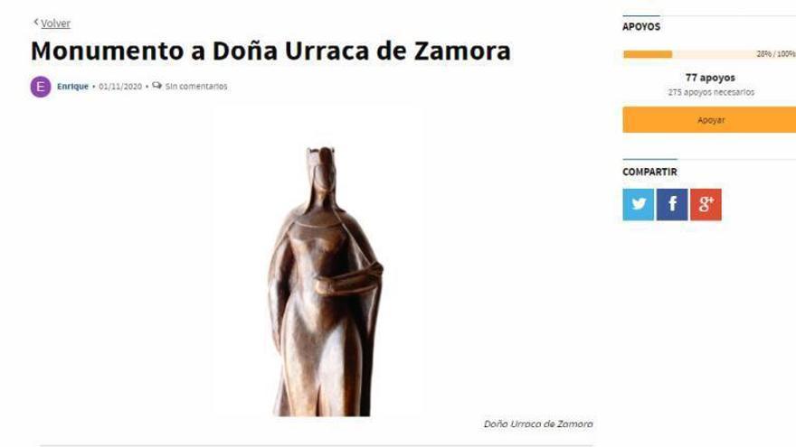 Una estatua de Zamora para doña Urraca