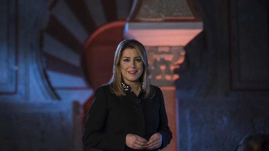 Susana Díaz da su discurso de fin de año desde Medina Azahara