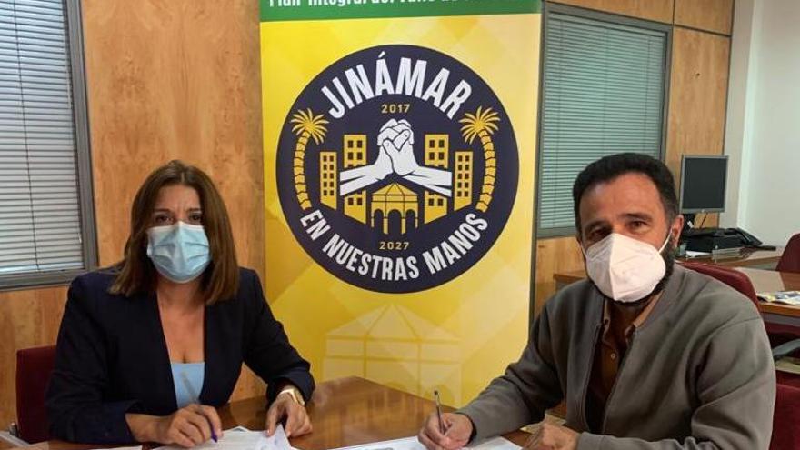 Telde y Aldeas Infantiles renuevan el convenio del proyecto 'Educando el talento' en Jinámar