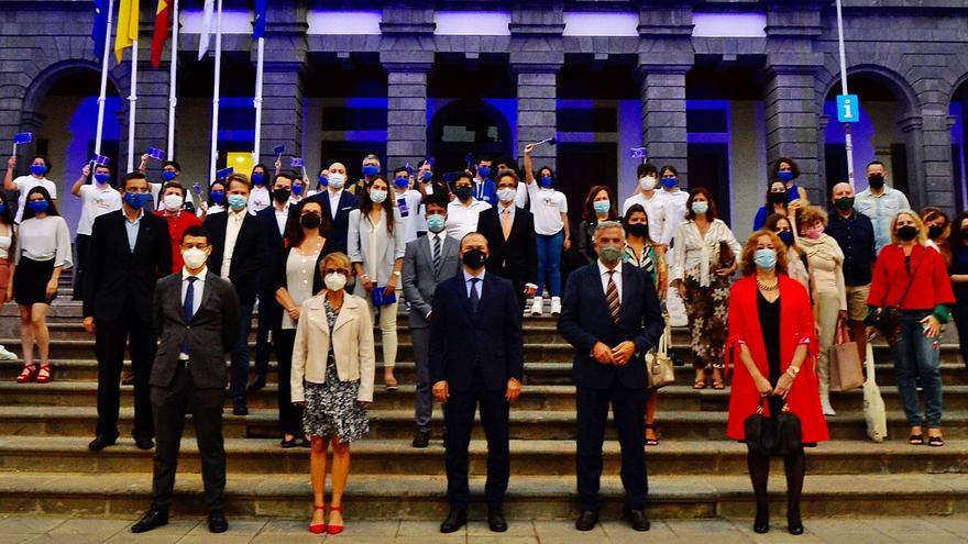 Hidalgo apela a la reconstrucción solidaria en la fiesta del Día de Europa