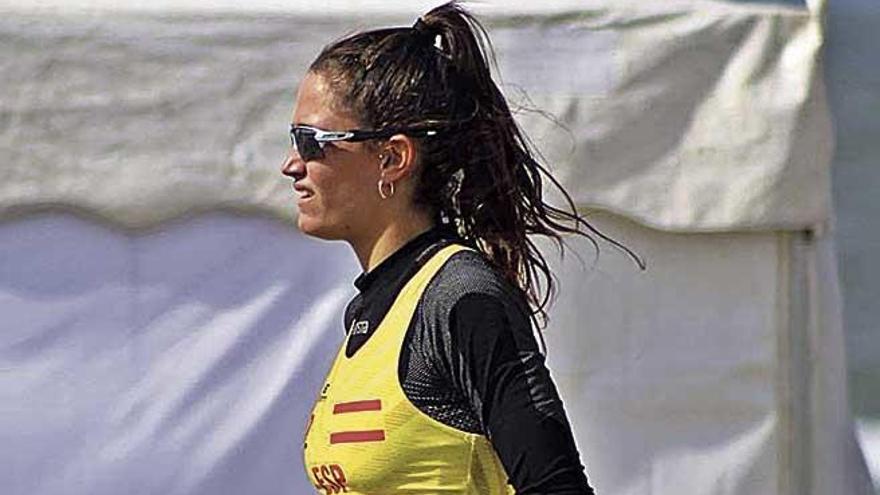 Aina Munar refuerza la recepción del Garden Hotels Mallorca Volley