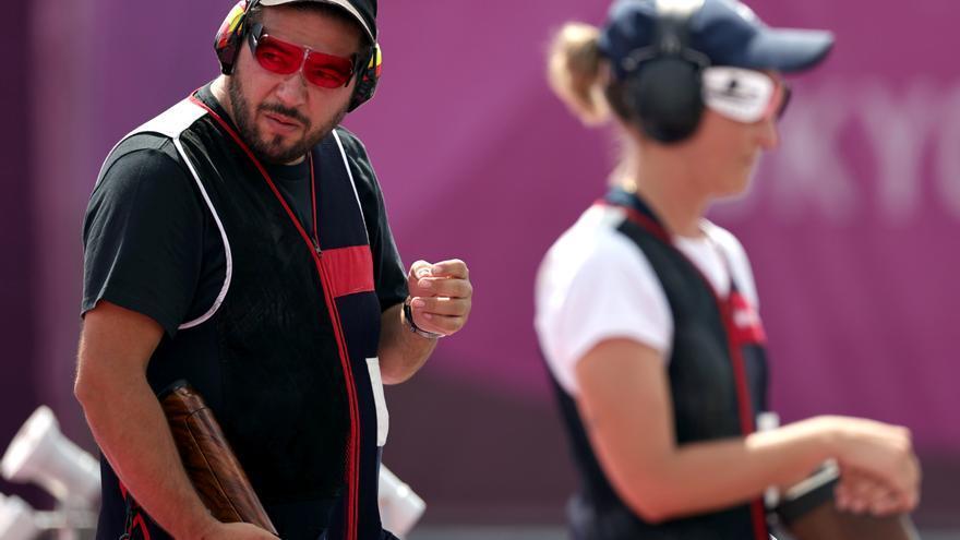 Fátima Gálvez y Alberto Fernández, en tiro, dan a España su primera medalla de oro