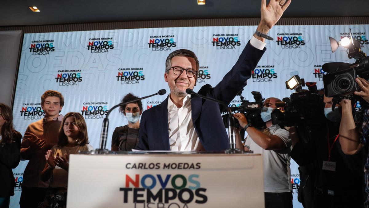 Carlos Moedas, el nuevo alcalde de Lisboa