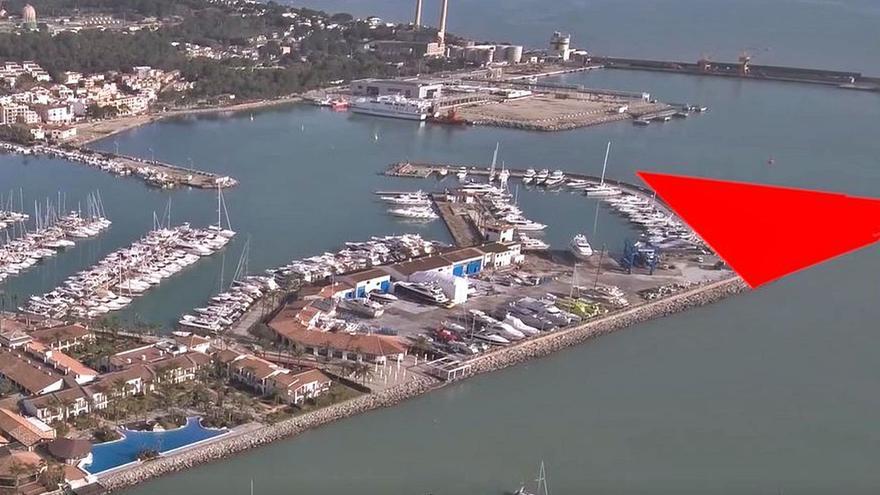 Medio Ambiente desestima de nuevo  la ampliación del puerto de Alcudiamar