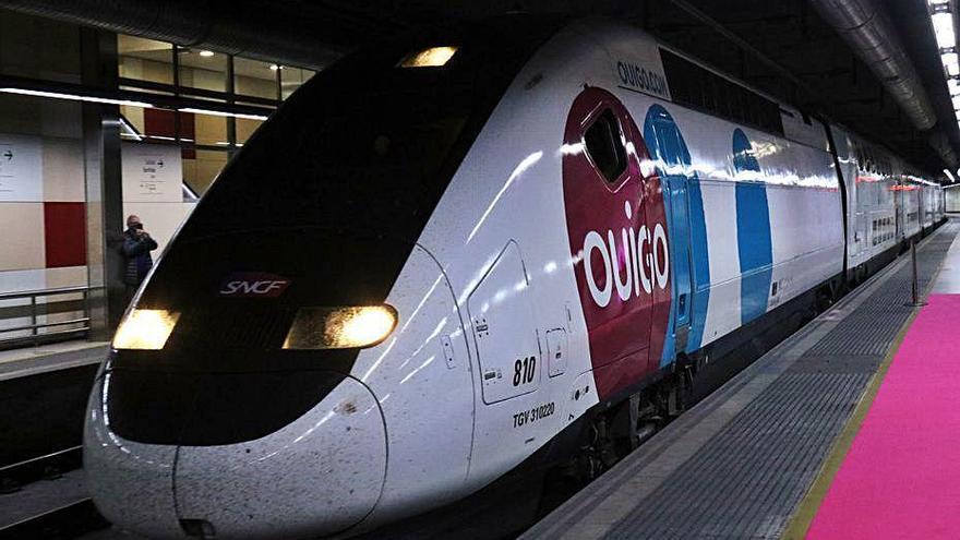 Ouigo dona el tret de sortida a la liberalització ferroviària de l'alta velocitat
