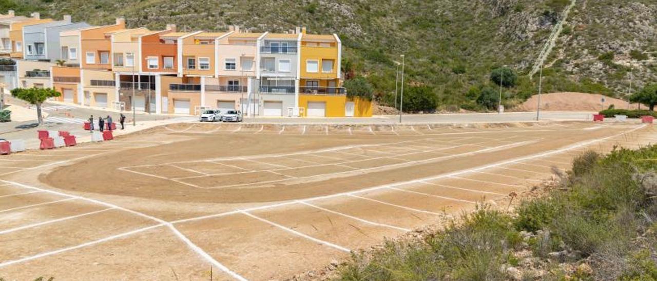 Nueva zona de aparcamiento. | LEVANTE-EMV