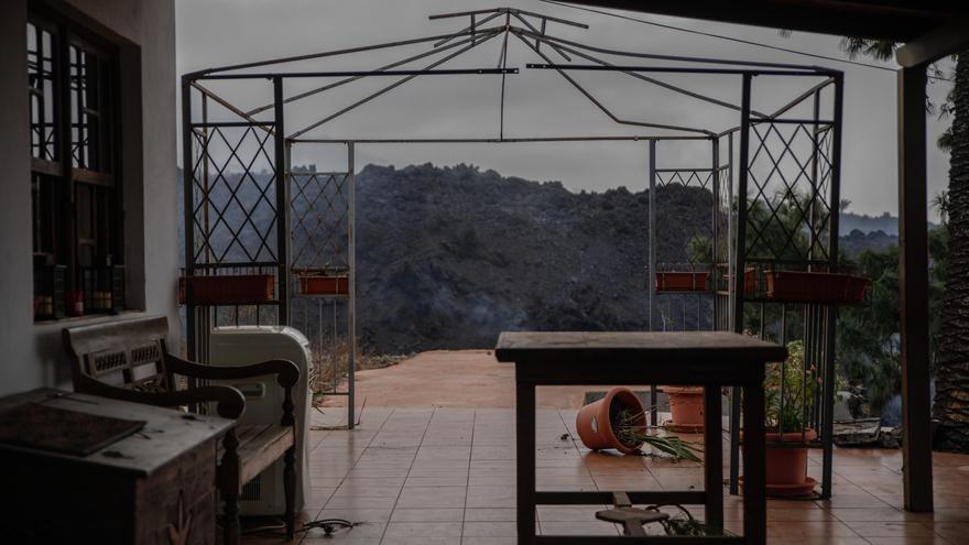 El sector comercial sufre la erupción de Cumbre Vieja