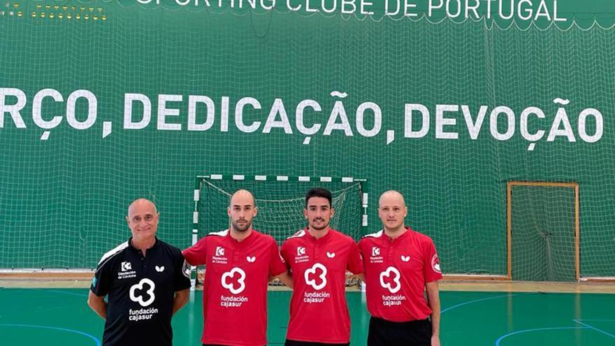 El Real Cajasur, campeón español, se prueba en Portugal