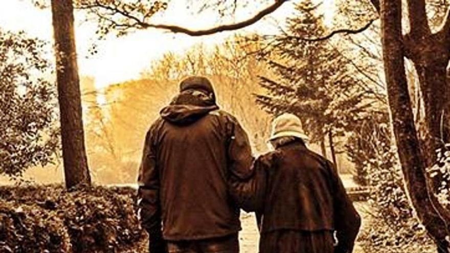 La salut de les persones grans, molt condicionada per la de la seva parella