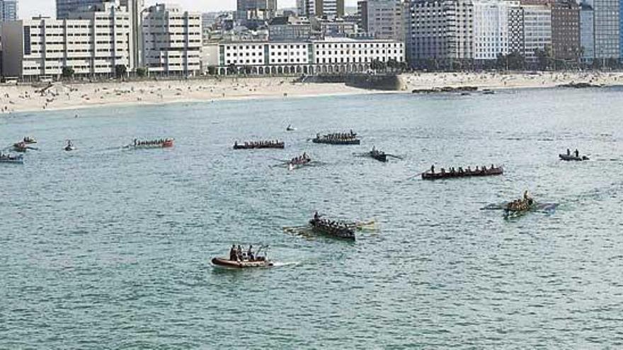 La Bandeira Cidade da Coruña, primera competición en abierto