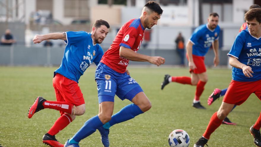 La Peña Deportiva ata al delantero del Portmany Joan Piera