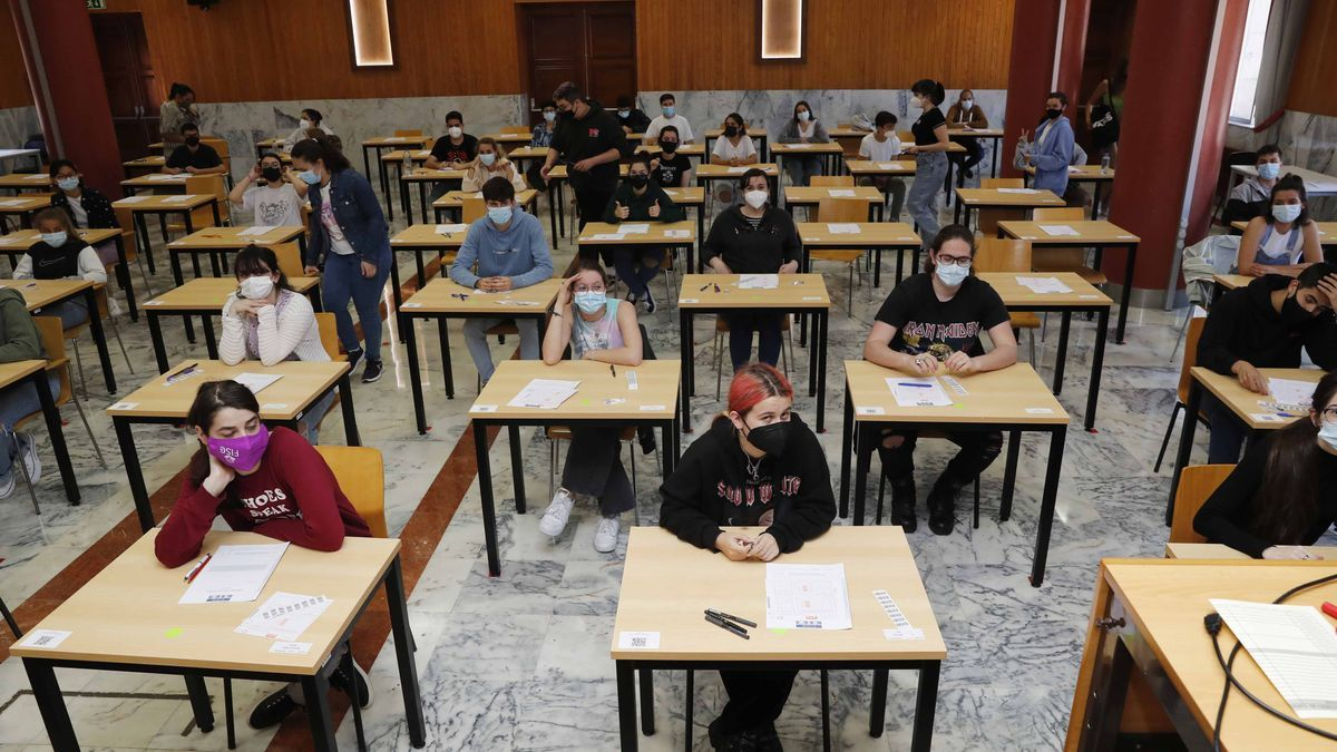 Exámenes de la ABAU, la semana pasada en la Universidad de Vigo