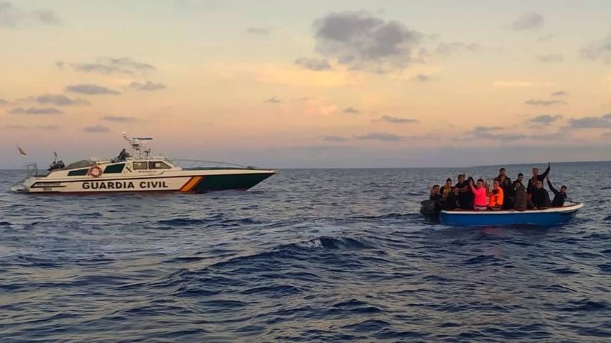 Llega otra patera a Palma, con 16 migrantes