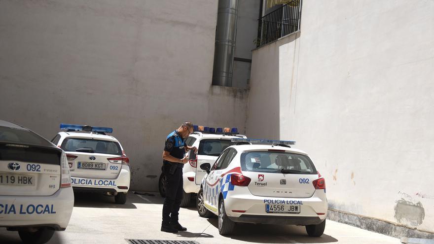La Policía Local de Teruel interpone 15 denuncias en la primera noche sin toque de queda