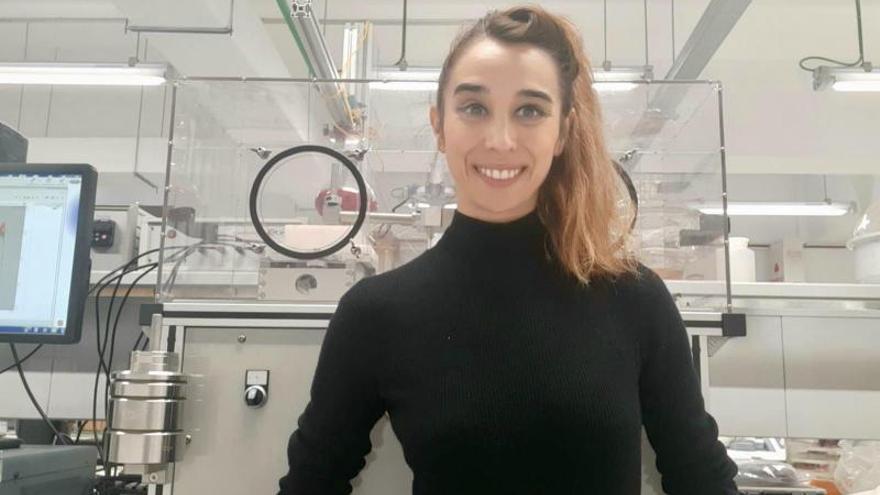 La mellariense Marta Mohedano gana el Coating Young Investigator
