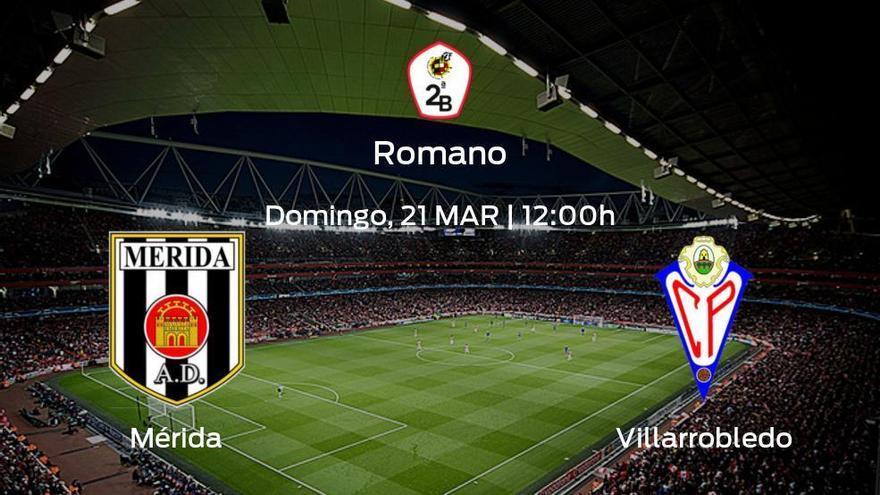 Previa del encuentro: el Mérida AD recibe al Villarrobledo en la última jornada