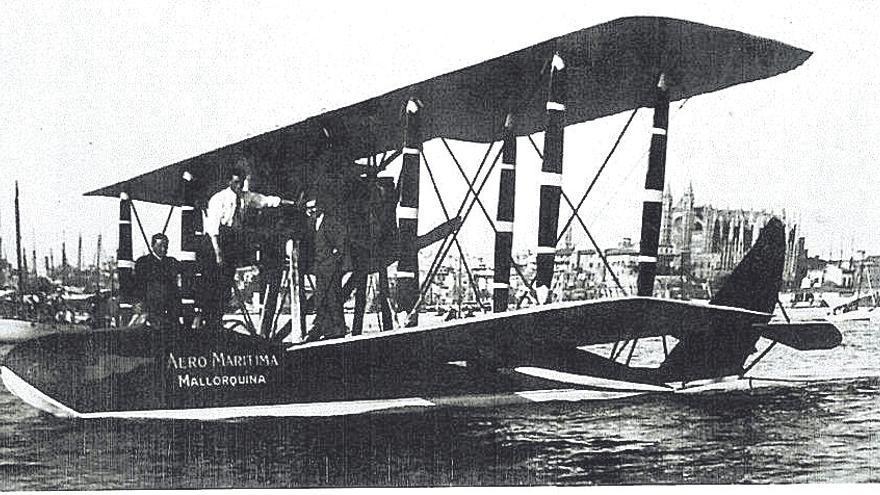 100 años del primer vuelo en hidroavión a Mallorca