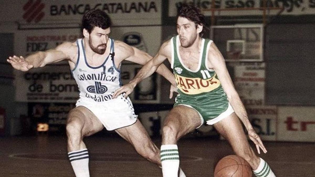 López Abril, en su etapa como jugador.
