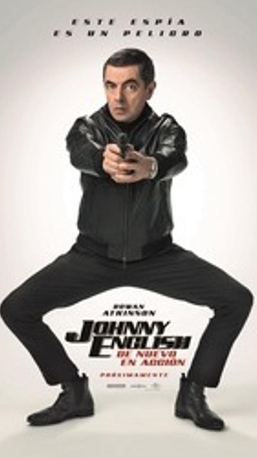 Johnny English de nuevo en acción