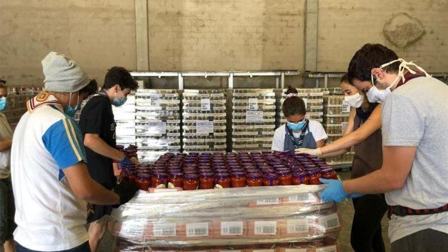 Aragón recibirá 764.527 kilos de alimentos para los desfavorecidos del FEGA
