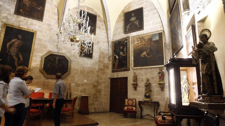 La 'Capilla Sixtina' valenciana recupera todo su esplendor