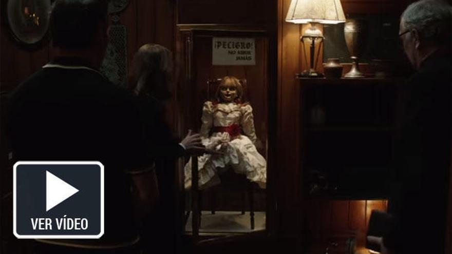 La muñeca diabólica Annabelle, protagonista de los estrenos de cine de la semana