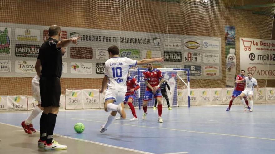 La falta de puntería condena al Alzira FS en el primer partido del año