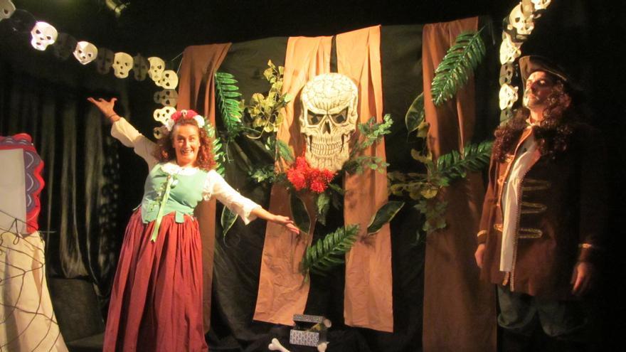 Piratas al abordaje en Halloween