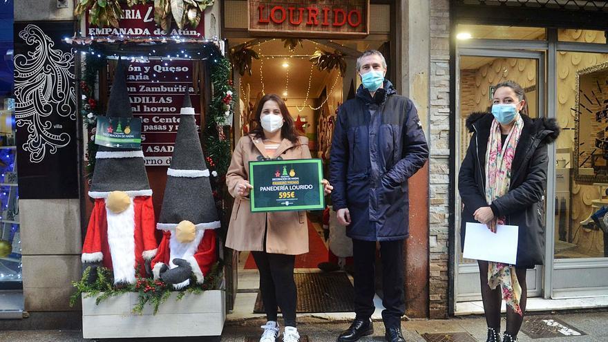 Panadería Lourido gana el primer premio del concurso de decoración de Navidad de Vilagarcía