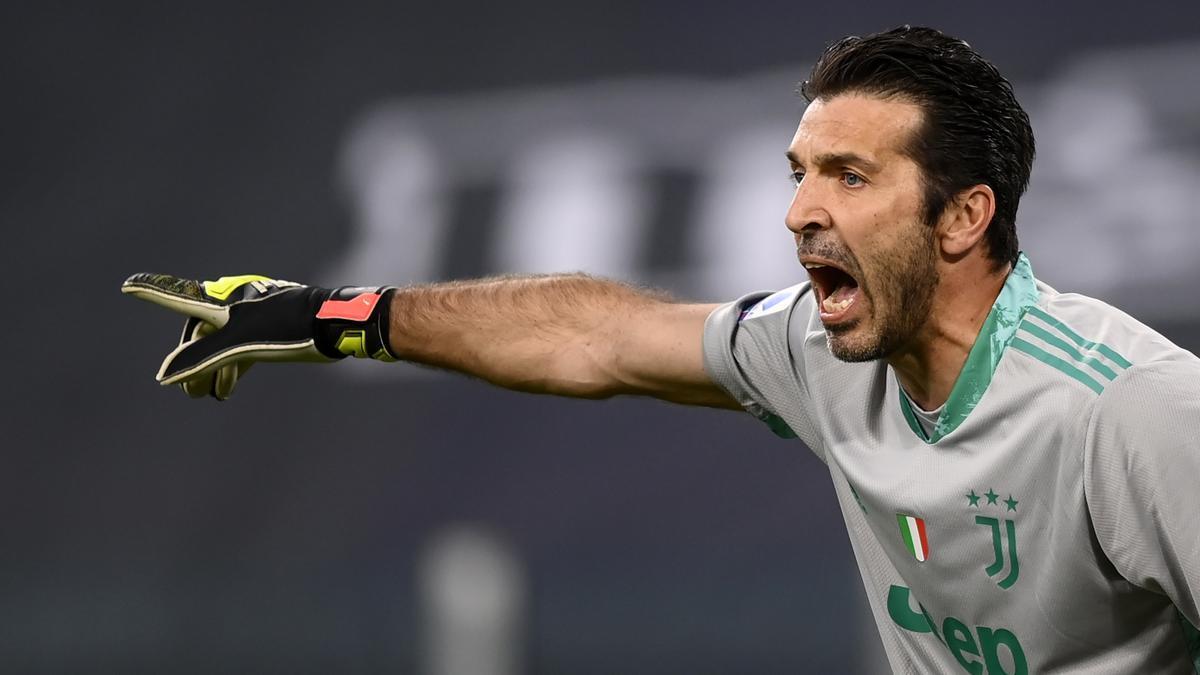 El portero, Gianluigi Buffon.