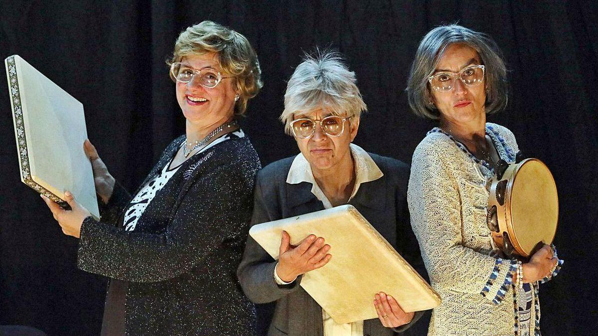 """'As fillas bravas"""" de Chévere retornan cunha nova produción contectada con Casandra."""