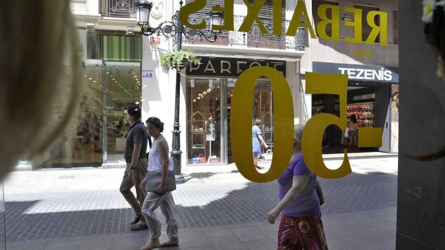 El empleo vinculado a las rebajas crecerá un 11,9 % con 1.975 nuevos contratos en Castelló