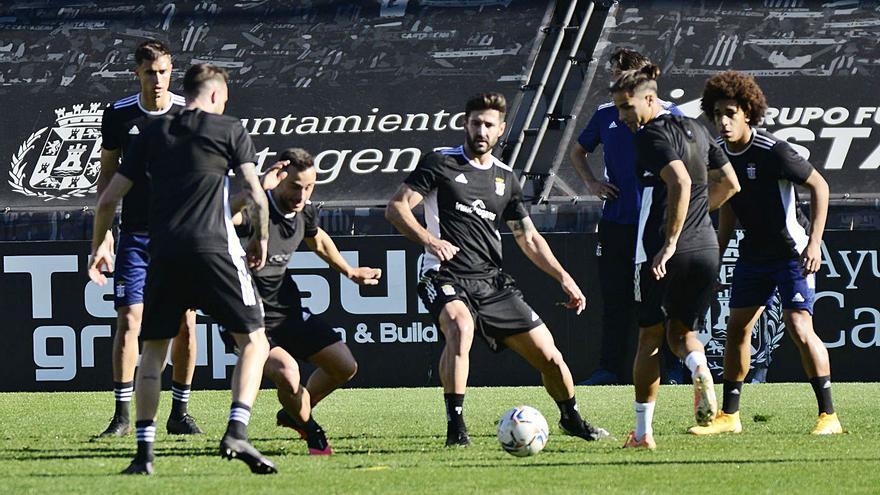 El FC Cartagena, ante cinco duelos que pondrán a prueba su línea ascendente