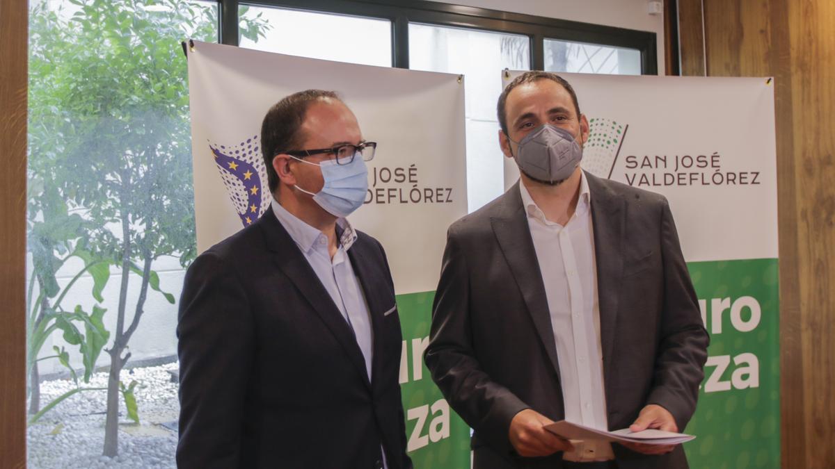 Cayetano Polo y David Valls, representantes de la empresa.