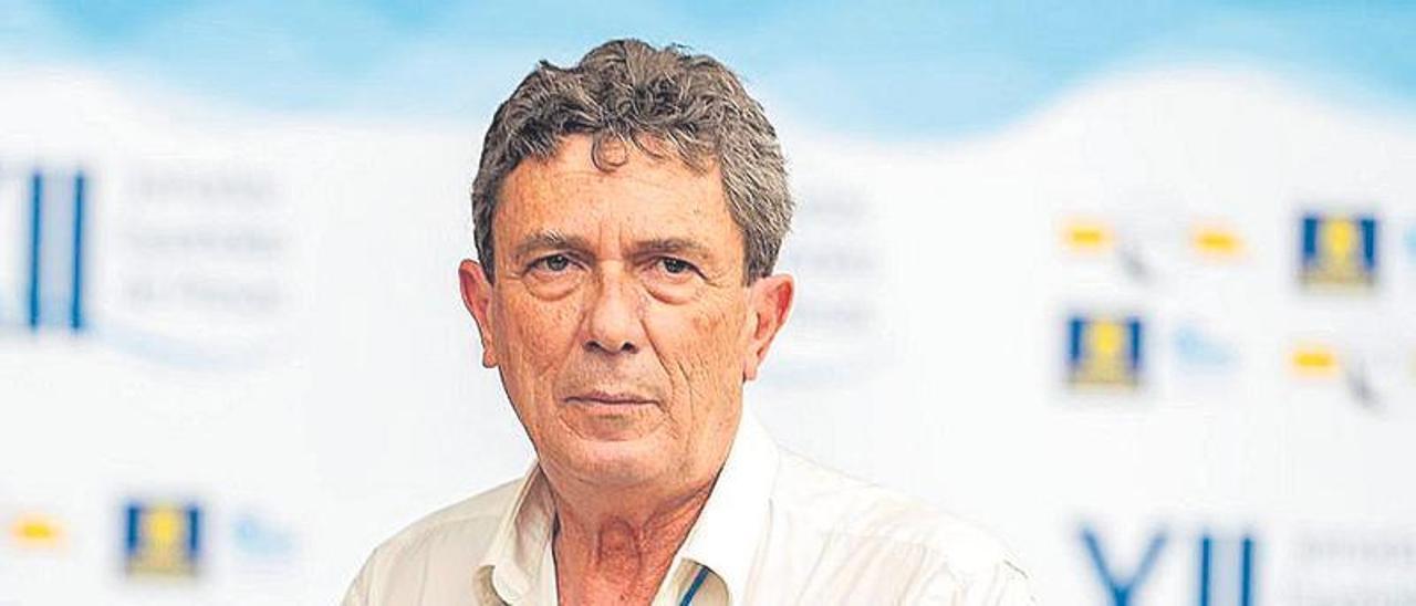 Santiago González, ayer en las Jornadas Españolas de Presas.