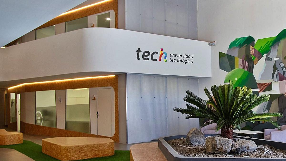 Sede del grupo educativo en Tenerife.     E.D.