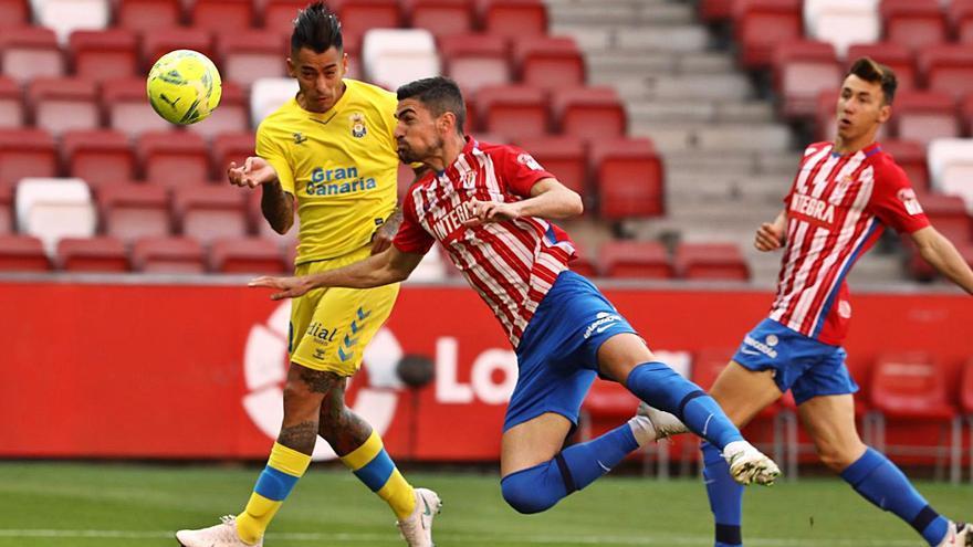El análisis del Sporting-Las Palmas (1-0): La efectividad rojiblanca, un tiro a puerta, un gol y tres puntos