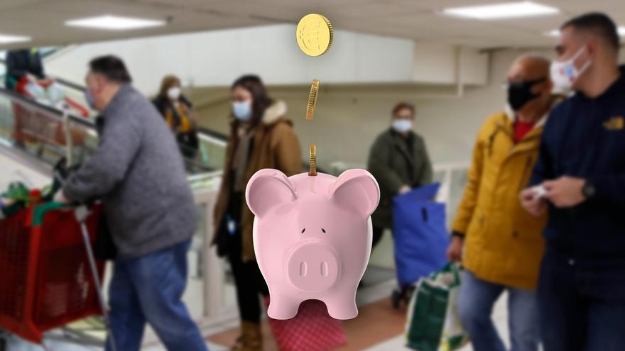 Hogares y empresas ahorraron en Galicia 5.500 millones desde que llegó el COVID