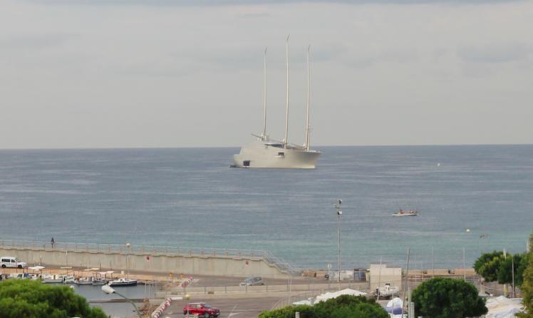 Segelyacht A vor Mallorca